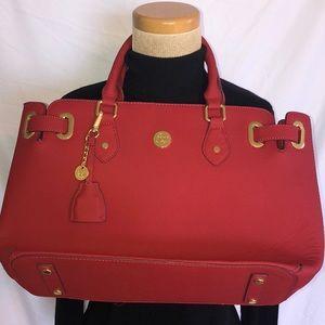 NWOT Joy Mangano Christie Leather Satchel Handbag